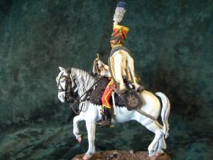 90mm Napoleonic Westfalian Hussar Trumpeter 1831