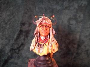 American Indian Blood Warrior Blackfoot